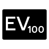 Valor EV referenciado a ISO 100